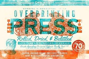 Overprinting Press Lite