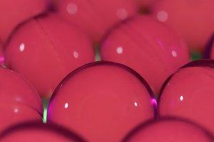 Pink Medicine Capsules