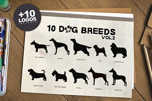 10 Dog Breeds vol.2 + Bonus