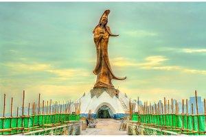 Kun Iam Statue in Macau, China