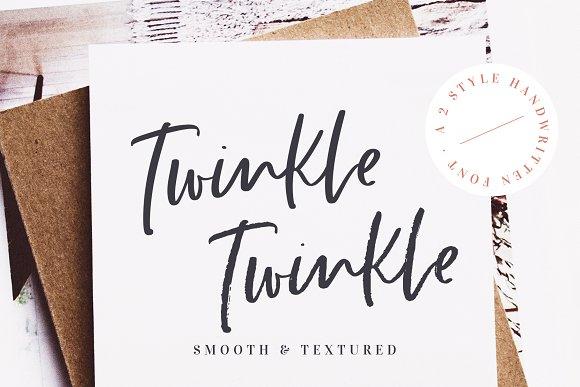 Twinkle Twinkle Handwritten Font
