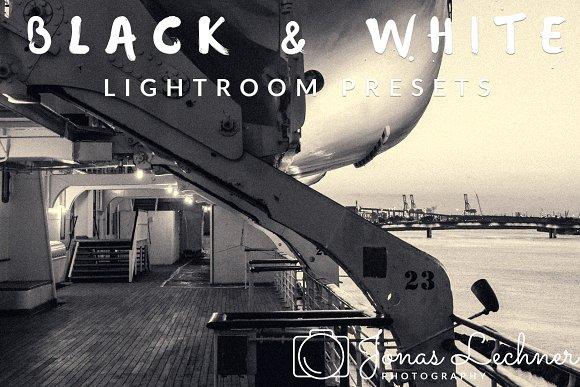 Black White Lightroom Presets