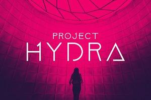 Project Hydra Font