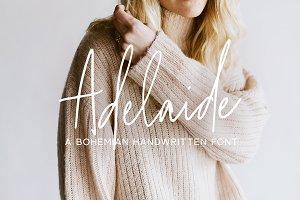 Adelaide | A Bohemian Script