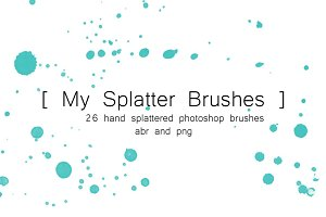 My Splatter - PS Brushes