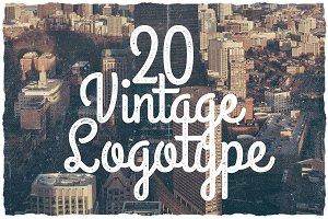 20 Vintage Logotype #5