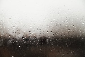 Rainy window.