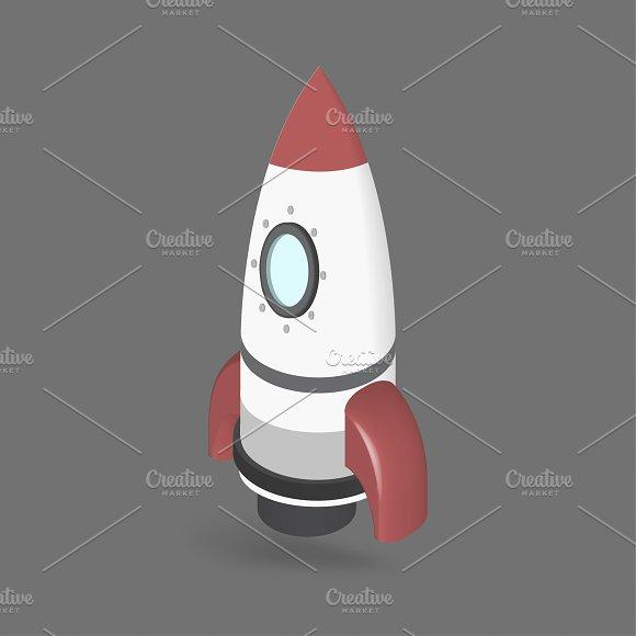 Vector Of Rocketship Icon