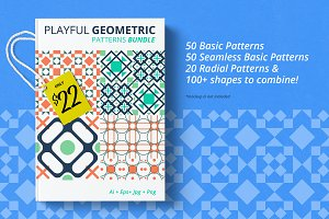 Playful Geometric Pattern Bundle