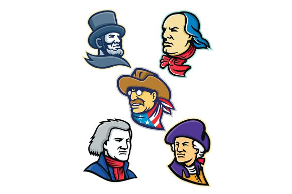 American Presidents And Statesman Ma