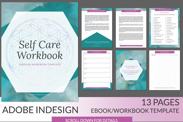 Self Care INDD Workbook/Ebook