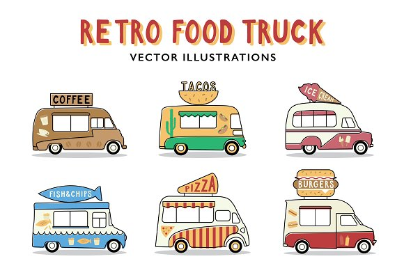 Retro Food Trucks
