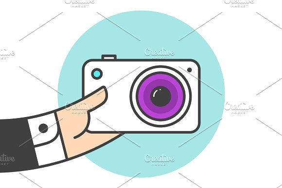 Icon Of Photo Camera
