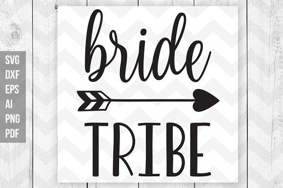 Bride Tribe SVG Vector Print Files