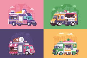 Street Food Trucks and Vans