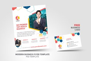 Modern Clean Minimal Business Flyer