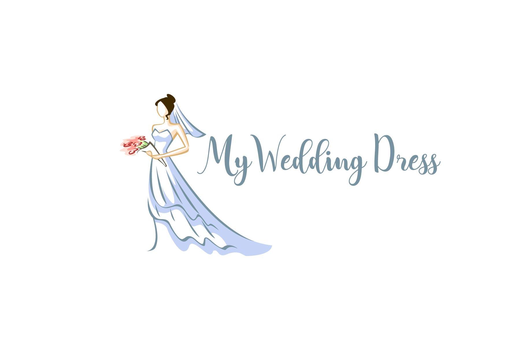 My Wedding Dress Logo Creative Daddy