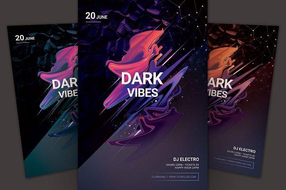 Dark Vibes Flyer