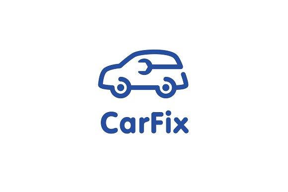 Car Fix Logo