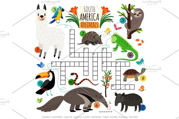 American Animals Crossword