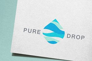 Pure Drop Logo