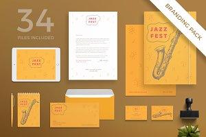 Branding Pack | Jazz Festival