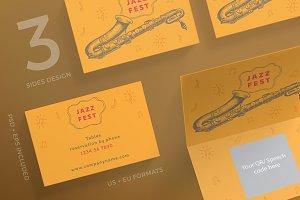 Business Cards | Jazz Festival