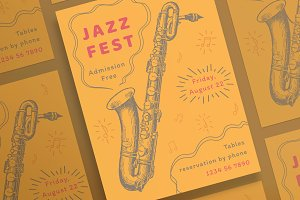 Posters | Jazz Festival