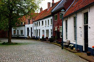 Small village in Holland