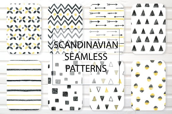Scandinavian Seamless Patterns