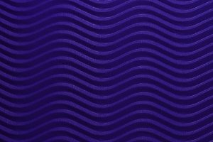 Blue Paper Horizontal Waves Texture