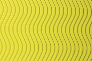 Yellow Paper Vertical Waves Texture