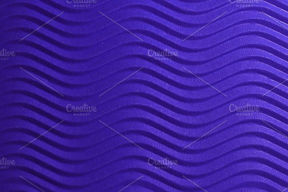Blue Paper Horizontal Waves Texture