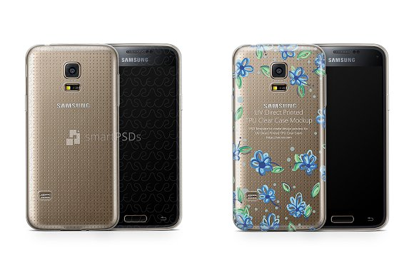 Samsung Galaxy S5 Mini UV TPU Clear