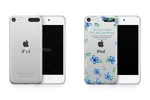 Apple iPod Touch 6 UV TPU Clear Case