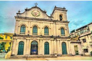 St. Lazarus Church in Macau, China