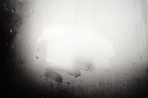 Misted window.