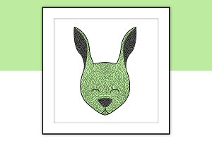 Bunny illustration