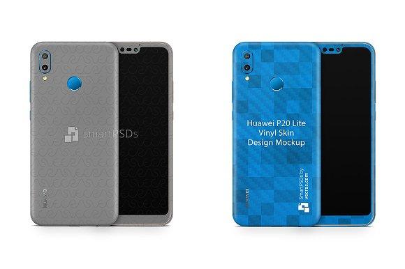 Huawei P20 Lite Vinyl Skin Mockup
