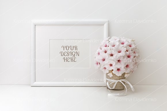 Frame Mockup Styled Stock Photo