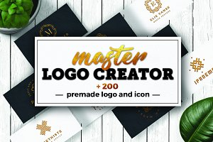 Logo Creator - geometric minimal kit