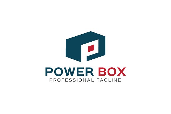 Power Box Logo Template