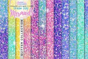 Mermaid Dollz Glitter Collection