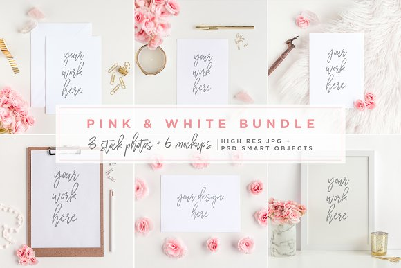 Mockups Giant Bundle - JPG/PNG/PSD in Print Mockups - product preview 2