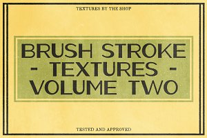 Brush stroke textures volume 02