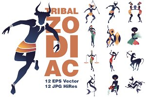 Zodiac Tribal Inspiration ( II )