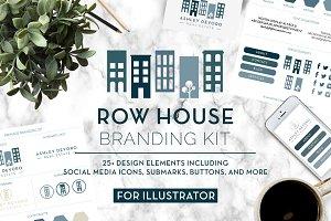 Row House Branding Kit