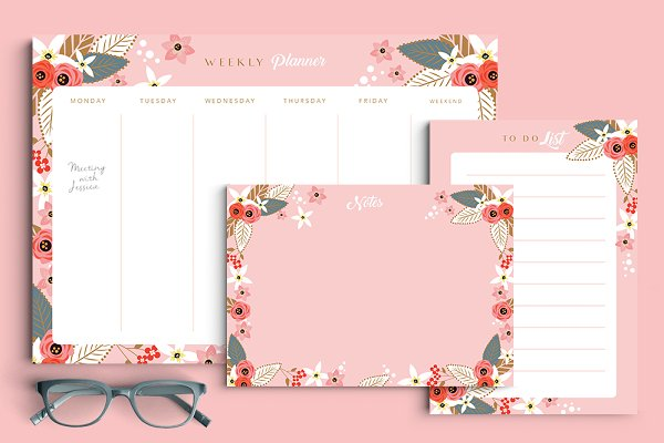 Stationery Templates: Werlang Paper - Aracaju Stationery Set