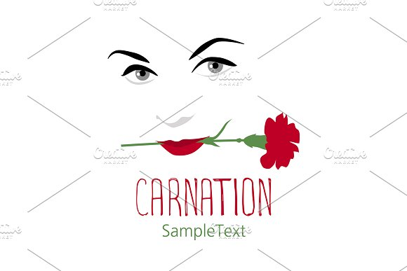 The Smile And The Carnation I