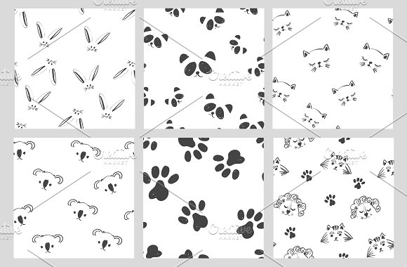 Cute Black And White Patterns